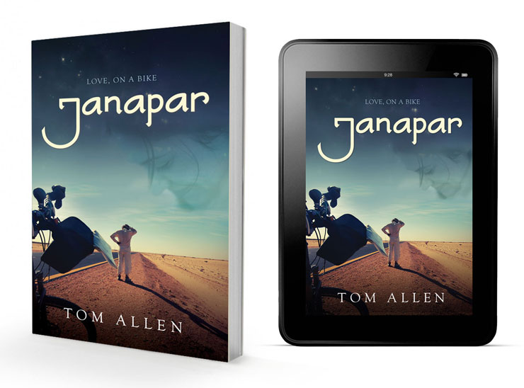 Janapar: Love on a Bike — the paperback and ebook