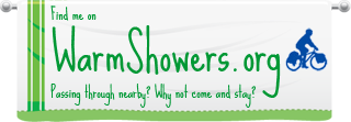 Find me on WarmShowers.org