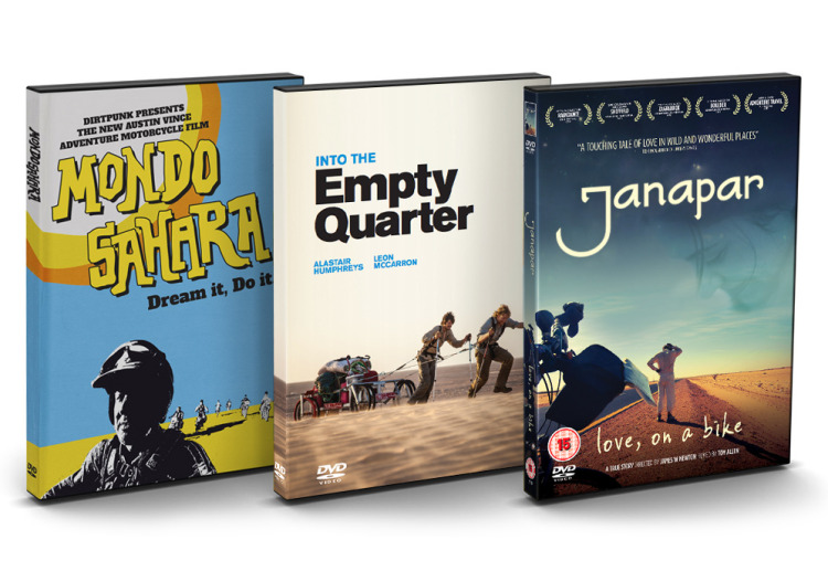 2014's Exclusive Adventure DVD Bundle